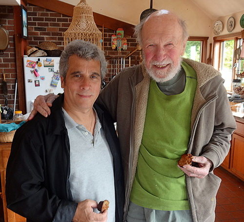Pete Seeger and Michael D'Antuono