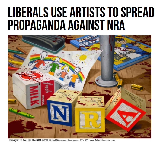 Liberals Use Artists to Spread Propaganda Against NRA