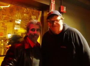 Mike and Michael Moore