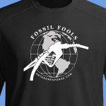 Fossil fools black-shirt