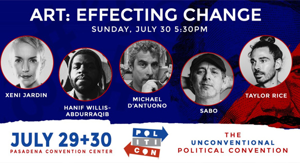 Politicon panel Art Effecting Change