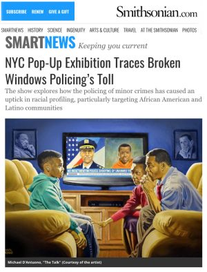 Smithsonian article about NYC exhibition on Broken Windows